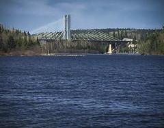 John's picture - Bridge Across River (Wilma H2014) Tags: bridge water northernontario johnspics