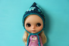 New pixie hat (marzipandaizy) Tags: blythedoll blythe hat helmet pixie gnome