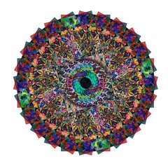 IMG_7175 (thedevilschips) Tags: art photoshop peace mandala connected