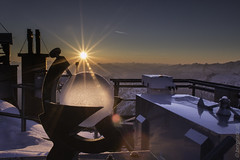Sonnenaufgang 7-6-16 (bergfroosch) Tags: sonnblickobservatorium sonnenaufgang
