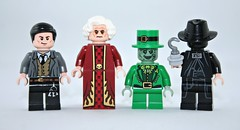 Lego Psycho Slashers Part 5 (XxDeadmanzZ) Tags: summer last fisherman lego you know 5 bram dracula norman part psycho what bates did leprechaun the slashers stokers i