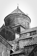 Haghpat Monastery - Armenia (Agnieszka Eile) Tags: caucasus southcaucasus armenia haghpat monastery religion christianity orthodox church architecture blackandwhite bw monochrome