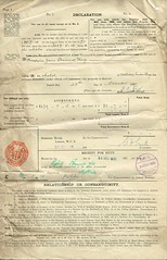 Detailed Accounts of the Estate of Reverend William Tudor Thorp, 1841-1919 total 35, 626 13s 6d. Includes names of people to whom payments due, Income etc. p4 (North West Kent Family History Society) Tags: christchurch london silver born major married wwi property son alnwick northumberland somersethouse captain division 1890 1920 lancastergate died 1917 royalengineers 1863 1884 granted 1879 dispute 1869 1866 1896 1882 1881 1864 creditors debts killedinaction sarahgraham chathill williamrobson thomasthorp funeralexpenses 11thnovember1919 13thapril1918 ecbdcollection estateduty charltonhall narrowgatehse 2nddecember1919 1841alnwick elizabethjanetudor emilysarahwest 24thoctober1871 marialouisajones 16thjune1875 elisabeththorp thomasalderthorp richardfenwickthorp williamtudorsaycethorp1876 robertoakleyvavasourthorp1877 collingwoodforsterthorp beatricejanefenwickthorp reginaldpearcethorp williamedwardlong claimsforduty estatedutyoffice haroldtragettthorp maudelizabethstaffordsanderson laurenceelliotbooth wallaceernestbritten 1stjune1921 janeelizabeththrorp