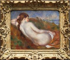Auguste Renoir - Reclining Nude 1883 (ahisgett) Tags: new york art museum met metropolitian