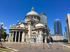 Christian Science Center, Boston ((Jessica)) Tags: boston architecture massachusetts newengland sunny bluesky pw christiansciencecenter