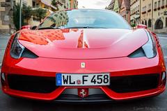 Ferrari 458 (Javier Palacios Prieto) Tags: auto red rot rojo ferrari coche supercar machina 458