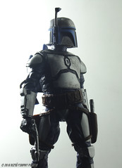 Jango Fett (Rezso Kempny) Tags: 6 black star inch attack disney clones series hunter wars bounty inches hasbro jango fett