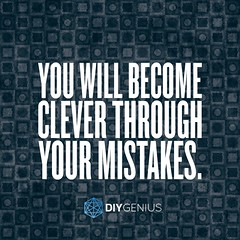 Make Mistakes, Become Clever (keepitsurreal) Tags: quote german quotes memes clever proverb mistakes cleverness