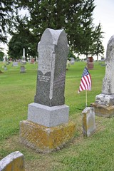 0U1A8120 Knoxville IA - Graceland Cemetery - INGLEFIELD AYRES (colinLmiller) Tags: monument knoxville headstone tombstone iowa gravestone ayres gracelandcemetery 2016 inglefield