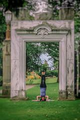 International Yoga Day (A Great Capture) Tags: summer toronto ontario canada yoga day photographer canadian international yogi summertime stef headstand on agc ald ash2276 adjm ashleylduffus internationalyogaday wwwagreatcapturecom agreatcapture