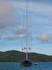Huge yacht (3scapePhotos) Tags: travel sea vacation vertical sailboat island islands boat sailing yacht virgin tropical huge british gorda caribbean tropics bvi britishvirginislands virgingorda bitterend