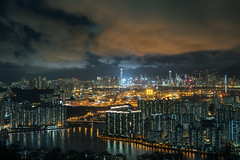 Light pollution in hong kong (AlberTsoi Photography) Tags: world street city light hk home beautiful night landscape photography hongkong energy cityscape power close place nightscape serious action outdoor save problem pollution saving excessive reduce