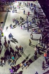 Like Ants (Japester68) Tags: city light shadow people sculpture art festival night outdoor sydney vivid australia event nsw aus 5star