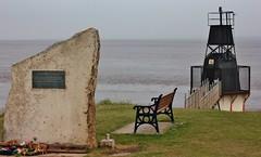 Portishead monument and Lighthouse June 2016 1 (Bristol Viewfinder) Tags: greyhound lighthouse dogs sailing portishead somerset hero mna avonmouth batterypoint portbury monnument merchantnavyassociation