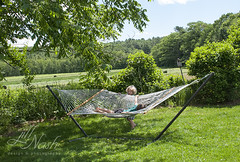 The perfect day for swaying in a hammock (grilljam) Tags: summer seamus hammock ewan cato 4yrs 65yrs june2016 swangofarm