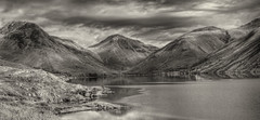 Wast-Water (Y.Dingo) Tags: wast water monochrome landscape