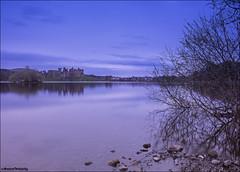 Linlithgow Loch (Novantae Photography) Tags: linlithgow westlothian scotland uk palace linlithgowloch dusk sunset evening historicscotland scottishhistory royalpalace