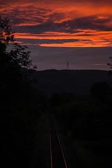 Sunsetting on Upper Rhondda (Mal.Durbin Photography) Tags: sunset sunsets treherbert settingsun rhondda treorchy rhonddacynontaf rhonddacynontaff rhonddavalley southwalesuk maldurbin