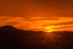 Orange Crush (inlightful) Tags: sunset sky sun sunshine clouds sunrise sunny sunrays sunbeams