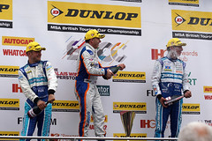 Podium2 (D.J.Nelson Photography) Tags: racing motorsport btcc touringcar 2016 croftcircuit sonyalpha