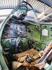 Spitfire cockpit (stevieB) Tags: museum kent memorial worldwarii spitfire manston httpwwwspitfiremuseumorguk