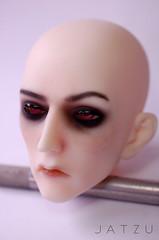 Ringdoll K Head (Jatzu) Tags: k tattoo hands manicure bjd blushing faceup ringdoll jatzu freefallcreation