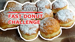 donuts (starvingjack1) Tags: food jack 2000 eating fast donuts doughnut challenge calories starving