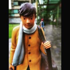 () (: ) :) Tags: sculpture male symbol taiwan luggage yilan   jimmypark