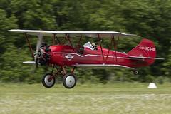 Travel Air 4000 - 3 (NickJ 1972) Tags: travel les la aviation air airshow temps 4000 2016 alais helices ferte nc4418