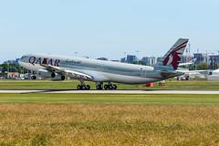 CYVR - Qatar Amiri Flight A340-313 A7-AAH (CKwok Photography) Tags: yvr cyvr qatar amiriflight a340 a7aah
