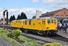 73952 & 73951 at Kidderminster. 20/5/16 (Nick Wilcock) Tags: ed railways severnvalleyrailway kidderminster networkrail 739 class73 dieselgala 73952 73951 malcolmbrinded janiskong