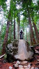 Northshore_Espresso_Downhill_Stone_1 (revolutionsports.eu) Tags: canada vancouver cycling roadtrip downhill northshore mtb northvancouver mountainbiking fromme grousemountain custombike singletrack handbuilt carbonbike allmountain konstructivecyclesberlin