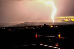 Lighting (Keinsei2) Tags: lighting cloud france weather flash rhne beaujolais fujifilm thunderstorm lightning nuage temps villefranche eclair orage meteo ain xa1 jassansriottier