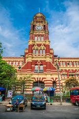 Yangon City (ReinierVanOorsouw) Tags: reizen myanmar birma burma travelling travel travelstoke reiniervanoorsouw sony sonya7r sonya7rii a7rii asia asya azie yangon yangoon rangon rangoon