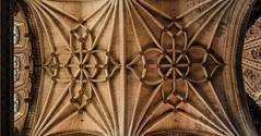 Simetrias (Jose Losada Foto) Tags: catedral espaa salamanca iglesias arquitectura castillas rutadelaplata nikon nikond90 fotografia joselosada techos cielos