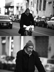 [La Mia Citt][Pedala] con il BikeMi (Urca) Tags: portrait blackandwhite bw bike bicycle italia milano bn ciclista biancoenero mir bicicletta 2016 pedalare dittico bikesharing nikondigitale bikemi ritrattostradale 85584