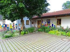 DSC04061 (Mr.J.Martin) Tags: tusslingbavaria bayren germany gapp garden canal village church wildflowers