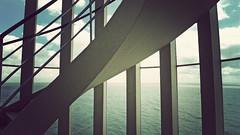P1040380vf (hans fotografeert) Tags: seascape holland building tower dutch landscape lumix view panasonic compact watchtower afsluitdijk lx3 kornwederzand thedockviewanddetailsfromthewatchtower afsluitdijkhollandstairwayviewafsluitdijkhollanddutchviewpanasoniclx3compactnederland