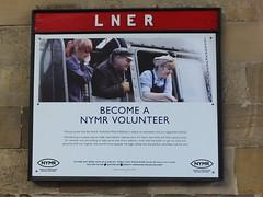 Become a NYMR volunteer (SierPinskiA) Tags: diesel pickering steamlocomotive grosmont northyorkshiremoorsrailway diesellocomotive preservationrailways fujixs1