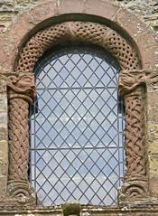 Kilpeck Herefordshire - West Window (David Cronin) Tags: david mary herefordshire romanesque stmary stdavid greenman kilpeck