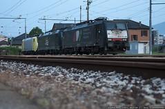 Che Parata!! (Raffaele Russo (LeleD445)) Tags: railroad siemens sbb ve svizzera vc trainspotting frontier vf ch 821 851 cfi isc trenitalia traxx chiasso servizi carco railfans e189 e474 interporto