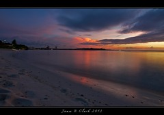 Guam Sunsets (Tiger Guy) Tags: ocean longexposure sunset beach reflections outdoors island nikon exposure dusk sunsets clark guam d300 jamesclark islandsunsets nikond300 mygearandme musictomyeyeslevel1