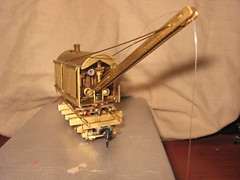 HO Scale MEW Model Engineering Works Brass Logging Crane (a69mustang4me) Tags: railroad scale model crane logging engineering rr works ho brass mew railroading