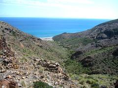 cala del barranco (katie g*) Tags: park trip travel viaje parque costa beach coast spain south may playa sur mayo cabodegata viajar 2013 andalucia espana almeria