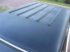 71K5Blazer_2k_roof (Monaco Luxury) Tags: auto bar 1971 ps pb stereo chevy 350 roll custom blazer resto k5 pristine frameoff