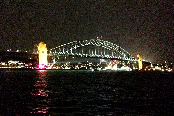 Vivid Festival 2013 Harbour Bridge