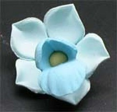Small Blue Orchid No wire 3cm (sweetinspirationsaustralia) Tags: cupcaketoppers
