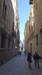 Street (paul nine-o) Tags: barcelona street beautiful sunshine architecture barca sunny streetlife espana catalunya esp barc catalan espagna cata