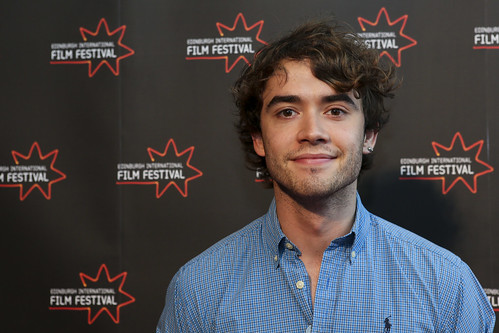 Jamie Blackley at the We Are The Freaks photocall