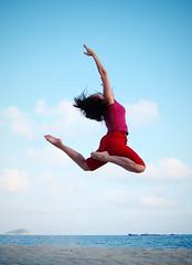 Part of You (Ting Hay) Tags: china ballet beach jump ballerina hainan tinghay